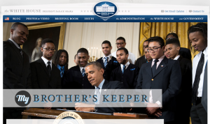 From White House My Brother's Keeper Landing Page