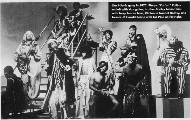 Funkadelic, circa 1972