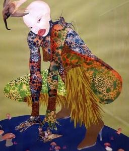 Riding Death in My Sleep by Wangechi Mutu