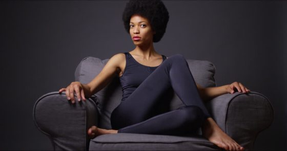 black-woman-on-couch